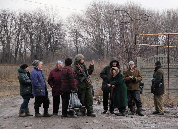 Ситуация в Дебальцево и Углегорске - Sputnik Беларусь