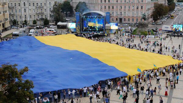 Святкаванне Дня Незалежнасці Украіны - Sputnik Беларусь