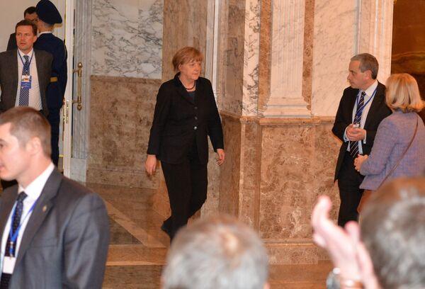 Ангела Меркель во Дворце Независимости в Минске - Sputnik Беларусь