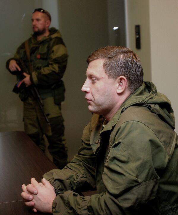 Александр Захарченко, архивное фото - Sputnik Беларусь