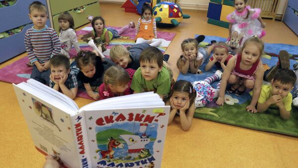 Дети в детском саду - Sputnik Беларусь