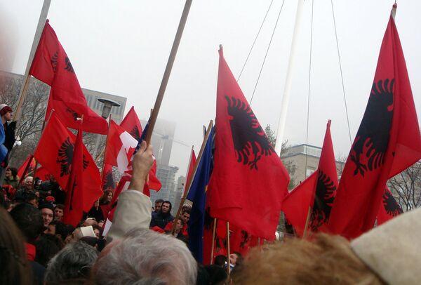 Демонстрация в Косово, архивное фото - Sputnik Беларусь