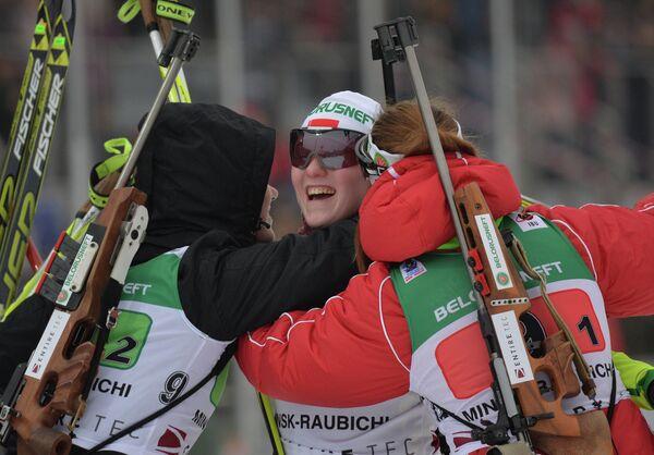 Белорусская команда завоевала золото в эстафете на ЮЧМ - Sputnik Беларусь