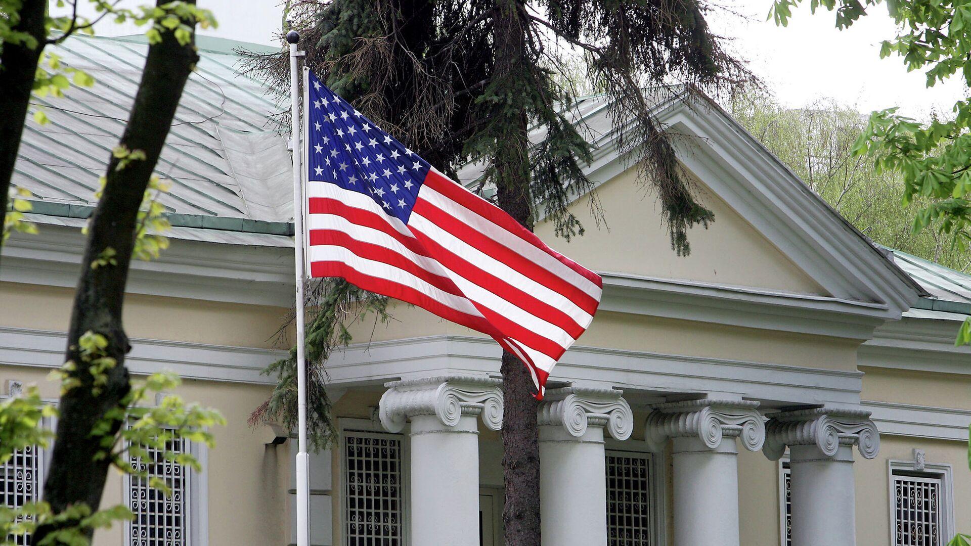 Здание посольства США в Минске - Sputnik Беларусь, 1920, 03.06.2021
