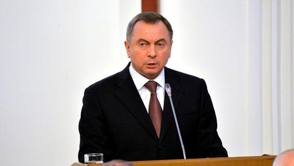 Глава МИД Беларуси Владимир Макей - Sputnik Беларусь