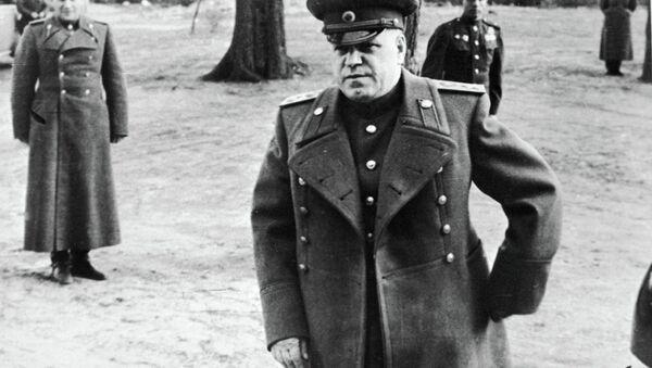 Георгий Жуков накануне наступления на Берлин - Sputnik Беларусь
