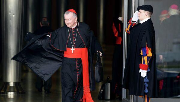 Кардинал Пьетро Паролин, секретарь Ватикана - Sputnik Беларусь