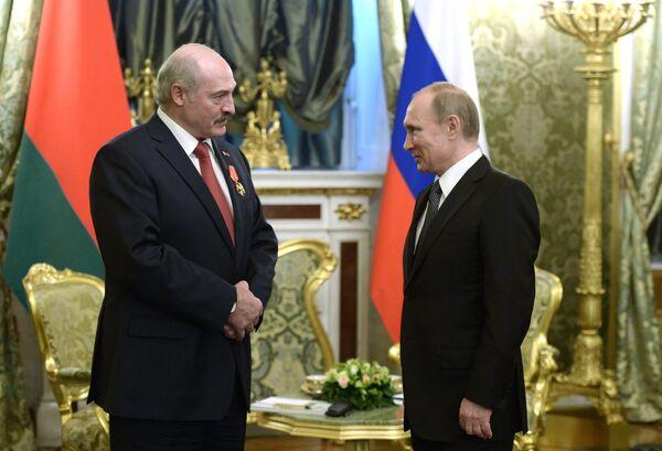 Заседание Высшего государственного совета Союзного государства России и Беларуси в Москве - Sputnik Беларусь