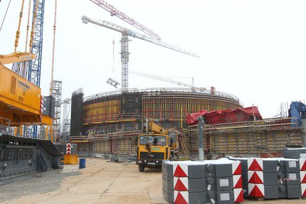 Строительство Белорусской АЭС - Sputnik Беларусь