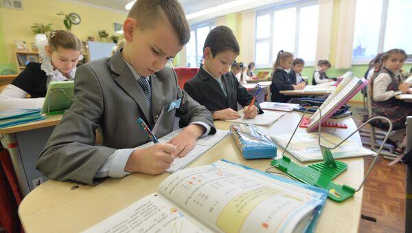 Урок матэматыкі ў мінскай гімназіі - Sputnik Беларусь