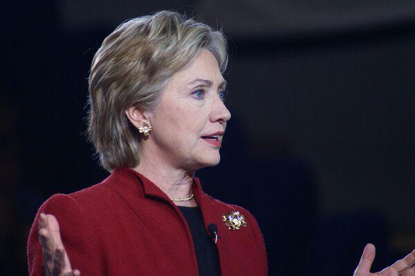 Бывший госсекретарь США Хилари Клинтон - Sputnik Беларусь