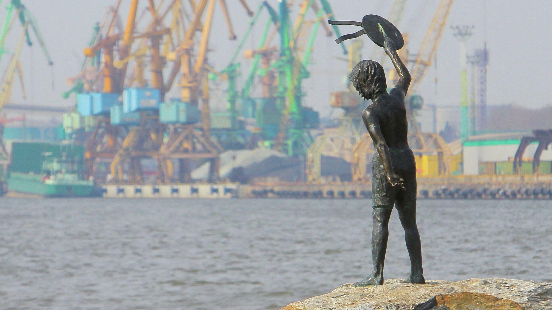 Клайпедский морской порт - Sputnik Беларусь, 1920, 07.10.2021