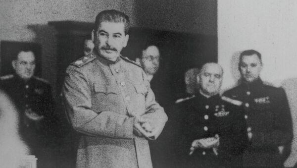 И.В. Сталин. Фотокопия - Sputnik Беларусь