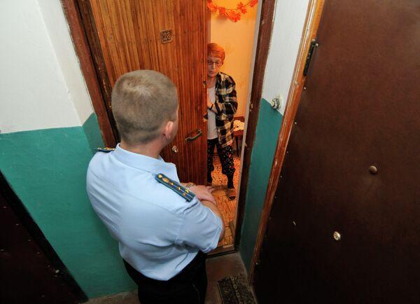 Рейд судебных приставов по взысканию долгов в России - Sputnik Беларусь
