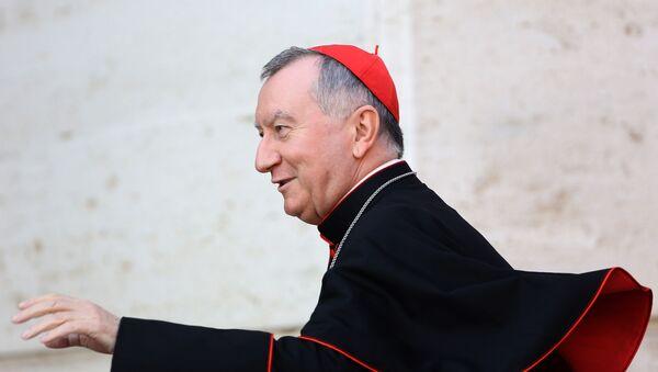 Государственного секретарь Папы Франциска кардинал Пьетро Паролин - Sputnik Беларусь