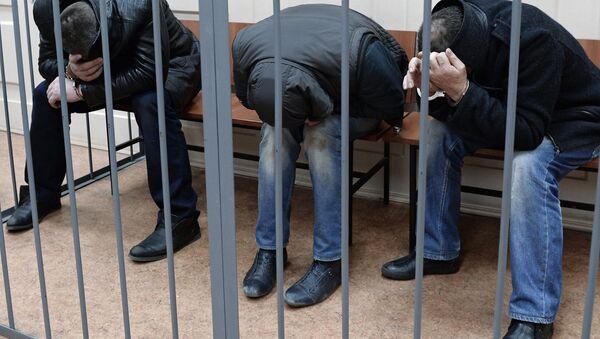 Подозреваемые в убийстве Б.Немцова доставлены в Басманный суд - Sputnik Беларусь