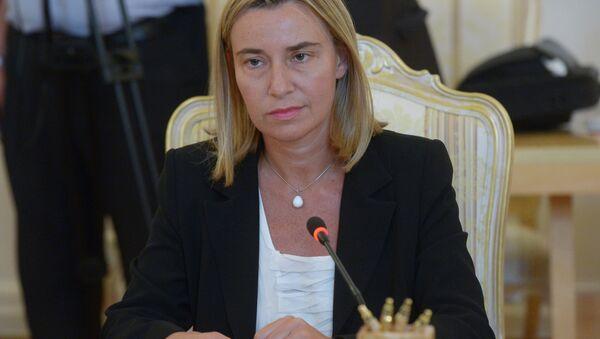 Представитель ЕС по иностранным делам Федерика Могерини - Sputnik Беларусь