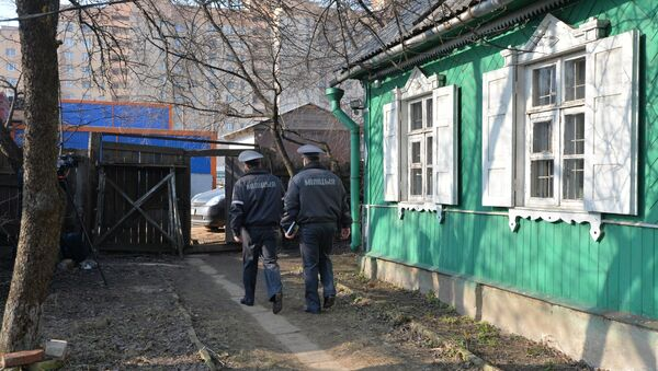 Міліцыянеры, што праводзілі высяленне сям'і Брэль - Sputnik Беларусь