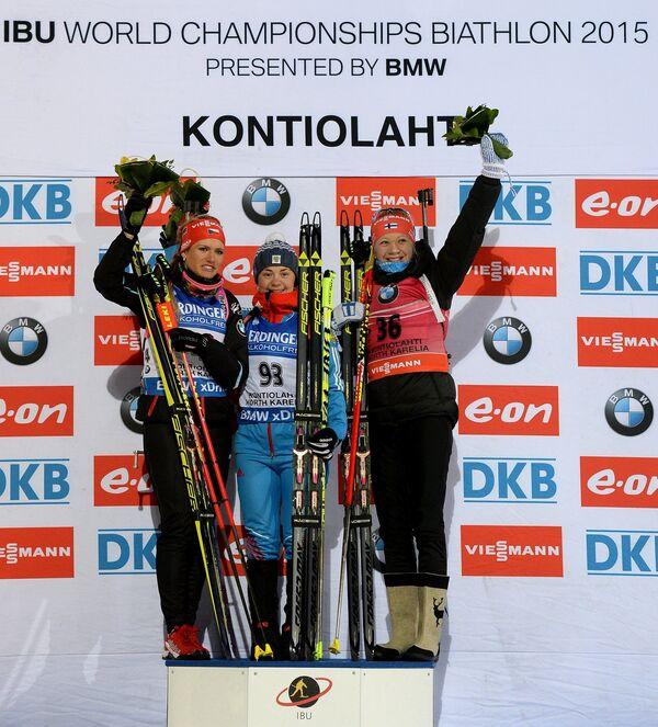 Биатлон. Чемпионат мира. Женщины. Индивидуальная гонка - Sputnik Беларусь