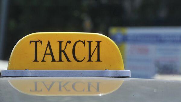 Такси, архивное фото - Sputnik Беларусь