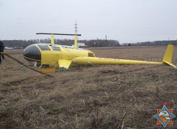 Вертолет, совершивший нештатную посадку под Кобрином - Sputnik Беларусь