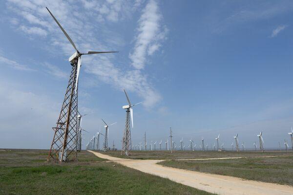Ветровые электростанции - Sputnik Беларусь