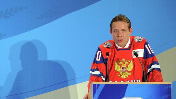 Хоккеист Павел Буре - Sputnik Беларусь