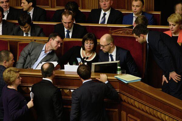 Одно из заседаний Верховной рады Украины - Sputnik Беларусь