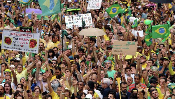 Массовые протесты в Бразилии - Sputnik Беларусь