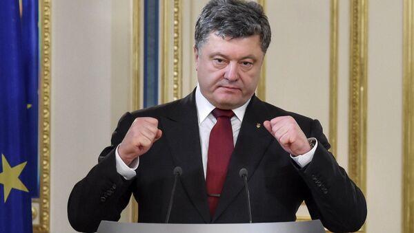 Призедент Украины Петр Порошенко - Sputnik Беларусь