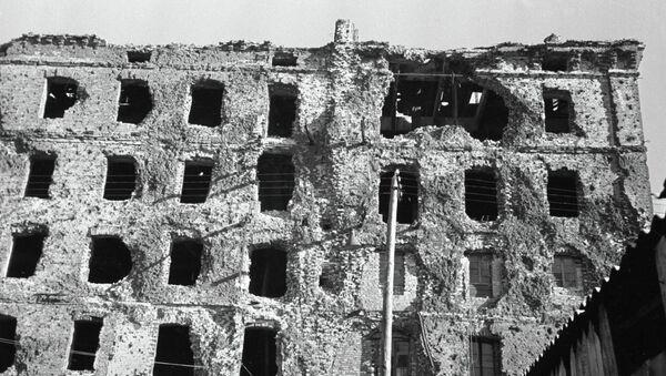 Дом Павлова в Сталинграде - Sputnik Беларусь