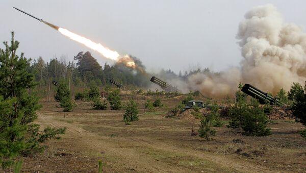 Командно-штабные учения белорусских артиллеристов - Sputnik Беларусь