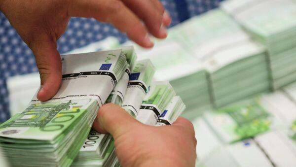 Пачка банкнот - Sputnik Беларусь