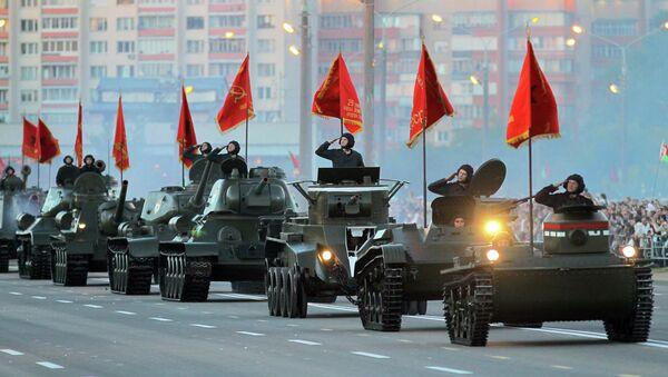 Ваенны парад у Мінску - Sputnik Беларусь