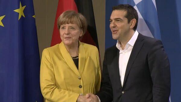 Меркель и Ципрас прокомментировали позиции по вопросу репараций - Sputnik Беларусь