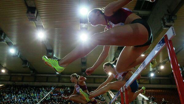 Легкая атлетика. Забег на 60 м с барьерами - Sputnik Беларусь