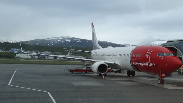 Самолет норвежской авиакомпании Norwegian Air Shuttle - Sputnik Беларусь
