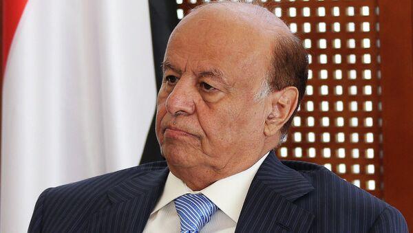 Президент Йемена Абд Раббу Мансур Хади - Sputnik Беларусь