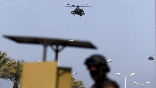 Египетские военные вертолеты патрулируют небо во время арабского саммита - Sputnik Беларусь