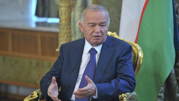 Президент Узбекистана Ислам Каримов - Sputnik Беларусь