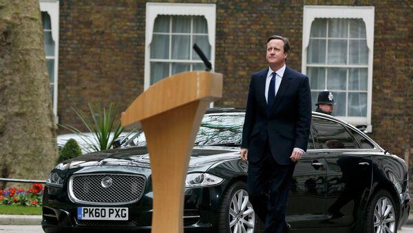 Премьер-министр Великобритании Дэвид Кэмерон - Sputnik Беларусь