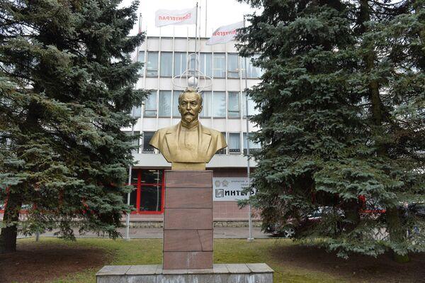 Проходная ОАО Интеграл - Sputnik Беларусь