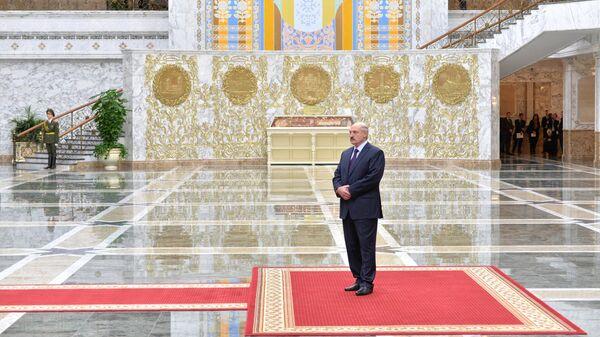 Аляксандр Лукашэнка ў Палацы Незалежнасці - Sputnik Беларусь