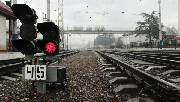Железнодорожные пути  - Sputnik Беларусь