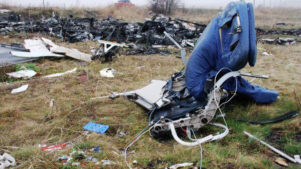 Месца крушэння малазійскага Boeing 777 - Sputnik Беларусь