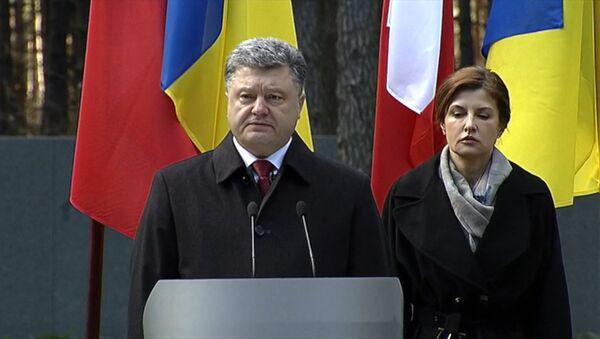СПУТНИК_Порошенко обвинил Сталина наряду с Гитлером в развязывании Второй мировой - Sputnik Беларусь