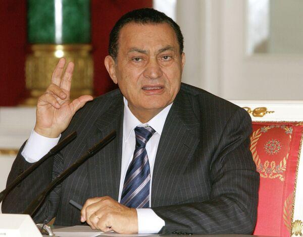 Бывший президент Египта Хосни Мубарак - Sputnik Беларусь