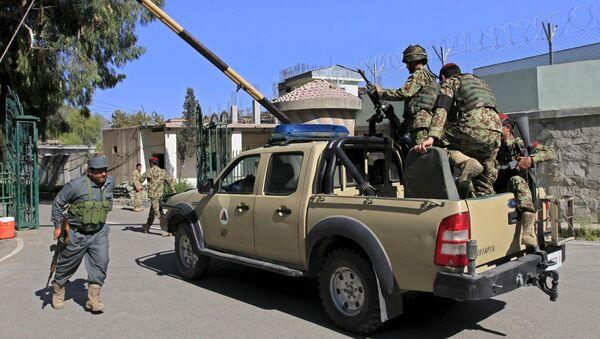 Солдаты армии Афганистана в Джелалабаде - Sputnik Беларусь