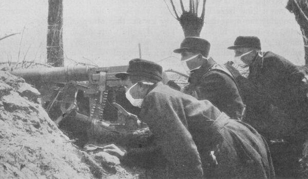 Першая сусветная вайна, хімічная атака 1915 года - Sputnik Беларусь