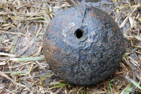 Бомба, знойдзеная ў Ясельдзе - Sputnik Беларусь